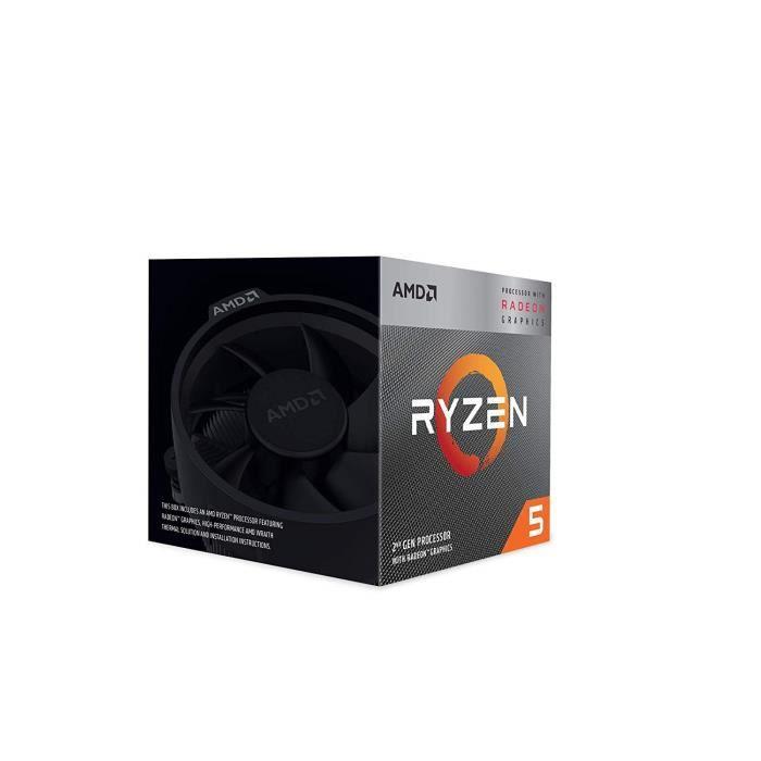 Processeurs Ryzen 5 3400G