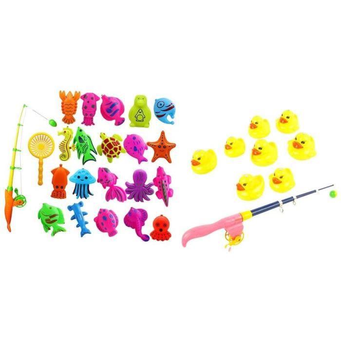 Jouets de Canard de Pêche Modèle de Animal pour Enfants Cadeau d'anniversaire[318]