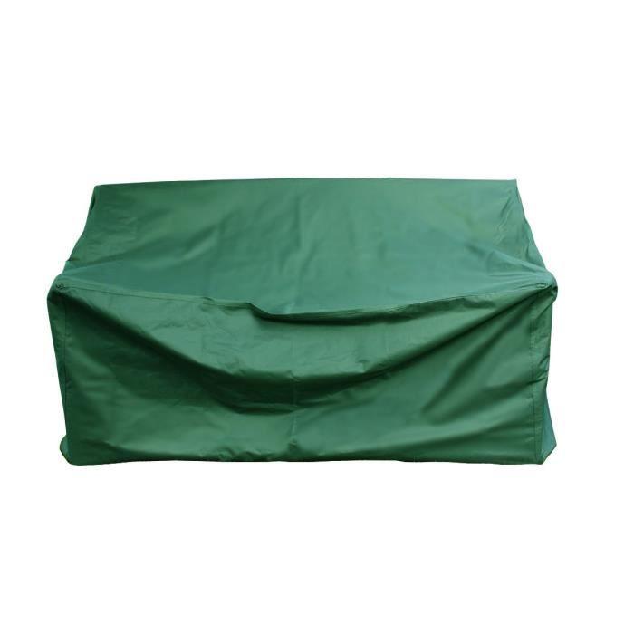 Brema Housse de protection pour bancs en polyester Oxford 420D, pour 3 personnes à 160 cm