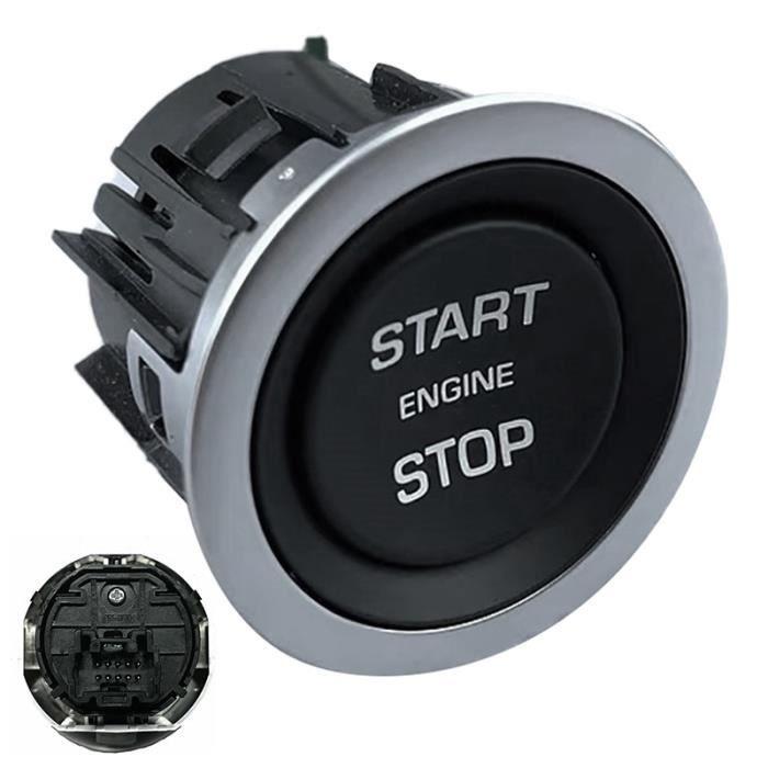 Antivol - Bloque Roue,Pour Land Rover Range Rover L322 2010 2013 1pc démarrage arrêt moteur interrupteur sans clé bouton d'allumage