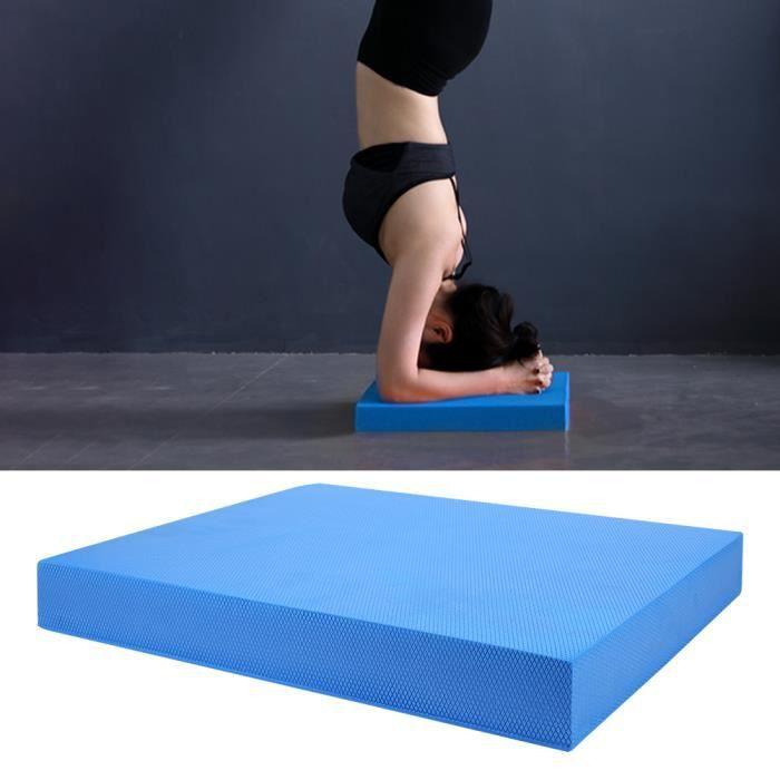 Garosa Coussins équilibrés Soft Yoga Balance Cushion Pad Training Taille rembourrée Abdomen Exercise Fitness Mat Equipment (S