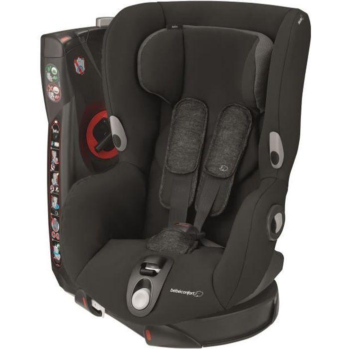 BEBE CONFORT Siège Auto Axiss, Pivotant, De 9 mois à 4 ans, inclinable, Nomad Black