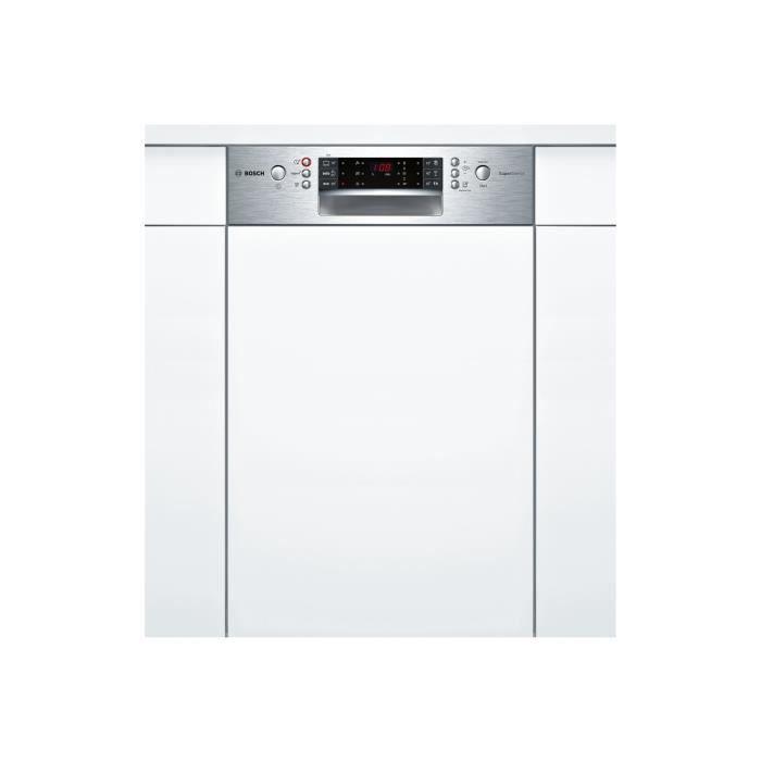Bosch Serie - 6 SuperSilence SPI66TS00E Lave-vaisselle intégrable Niche largeur : 45 cm profondeur : 55 cm hauteur : 81.5 cm…