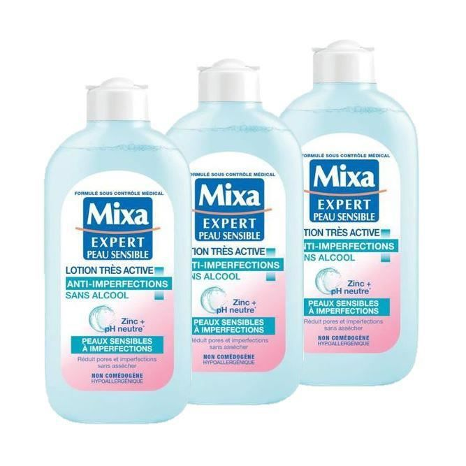 MIXA Lotion Anti-imperfection - 200 ml (Lot de 3)