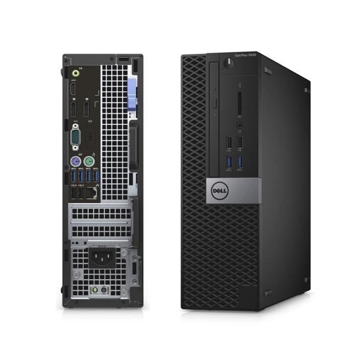 Pc de Bureau Dell OptiPlex 5040 SFF pentium 8Go 240Go ssd W10