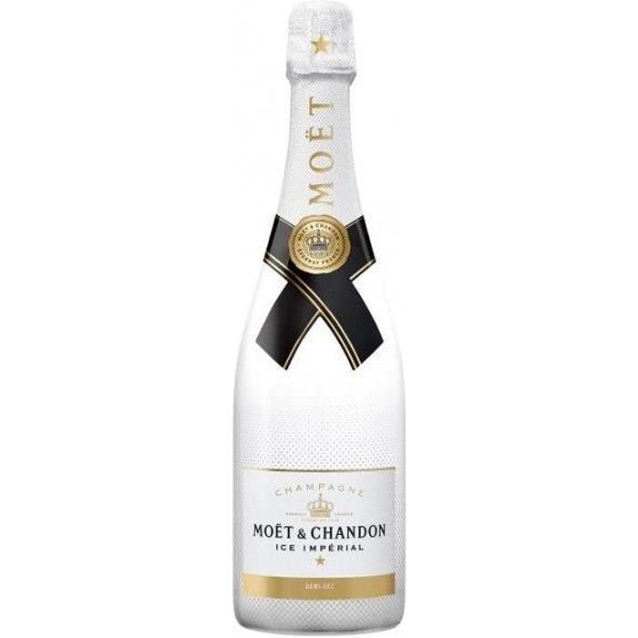 Champagne Moët & Chandon Ice Impérial Blanc Demi-sec - 75 cl