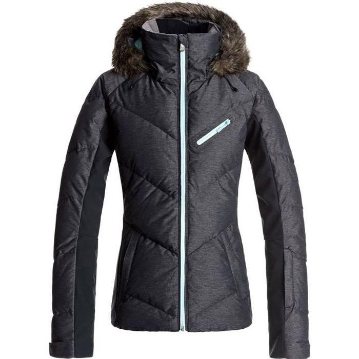 ROXY Snowstorm Blouson De Ski Femme - Taille L - NOIR