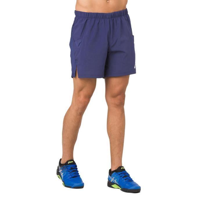 Asics Hommes Elite 7- Tennis Short De Sport