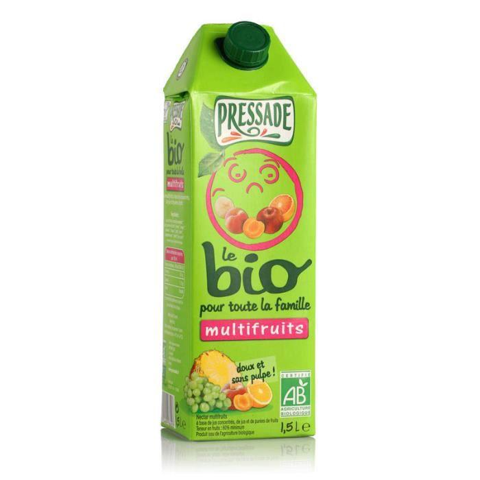 PRESSADE Nectar Multifruits - Bio - 1,5 L