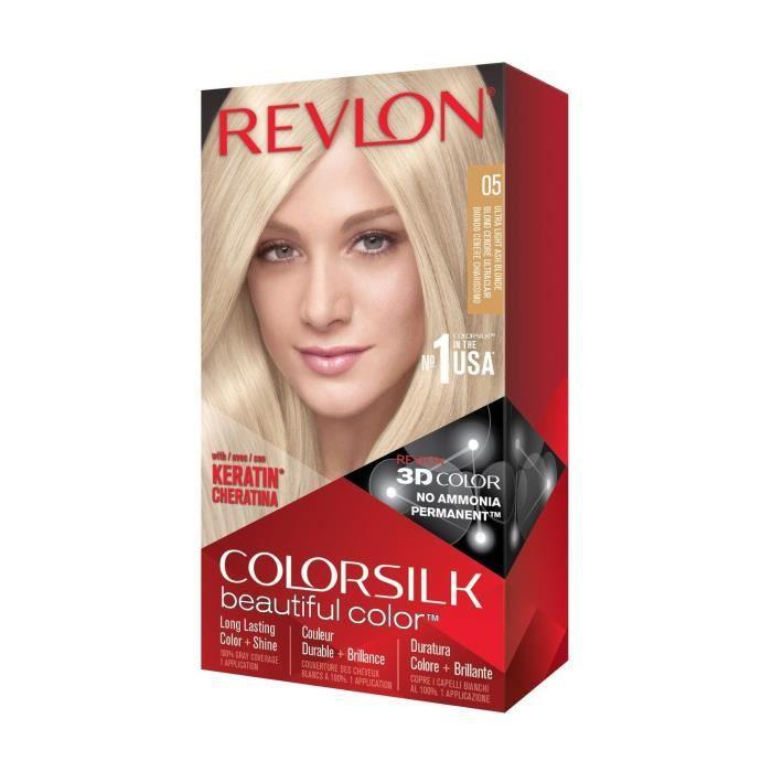 COLORSILK Coloration N°05 - Blond cendré ultra clair - 59,1 ml