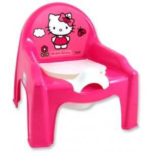 Chaise petit pot de chambre fille b b hello kitty achat - Decoration hello kitty chambre bebe ...