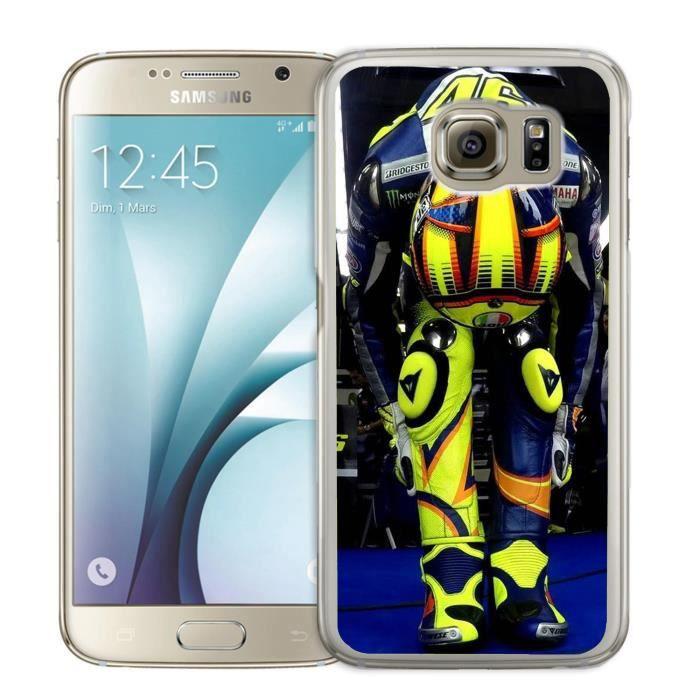 Coque Samsung Galaxy S6 Edge Valentino Rossi Conce