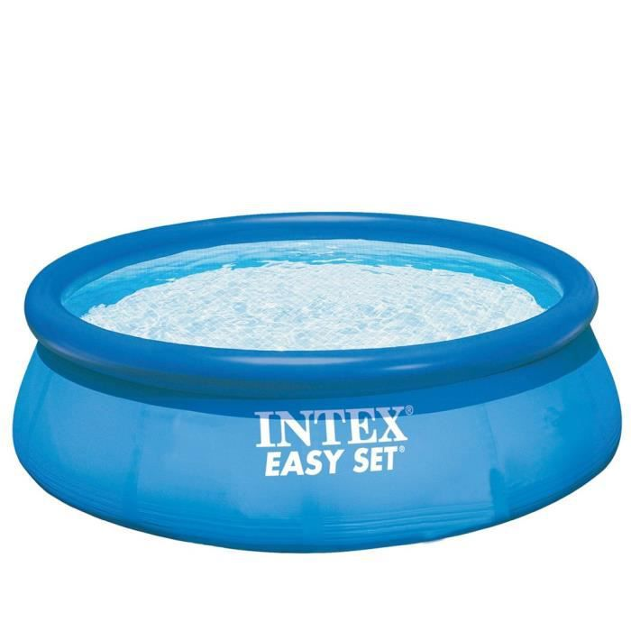 Magnifique piscine autoportante easy set 305 x 76 cm intex for Achat piscine autoportante