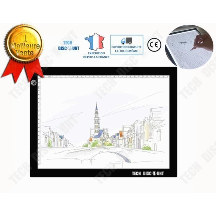 Td Table Lumineuse A3 Dessin Photo Enfant Led Usb Portable