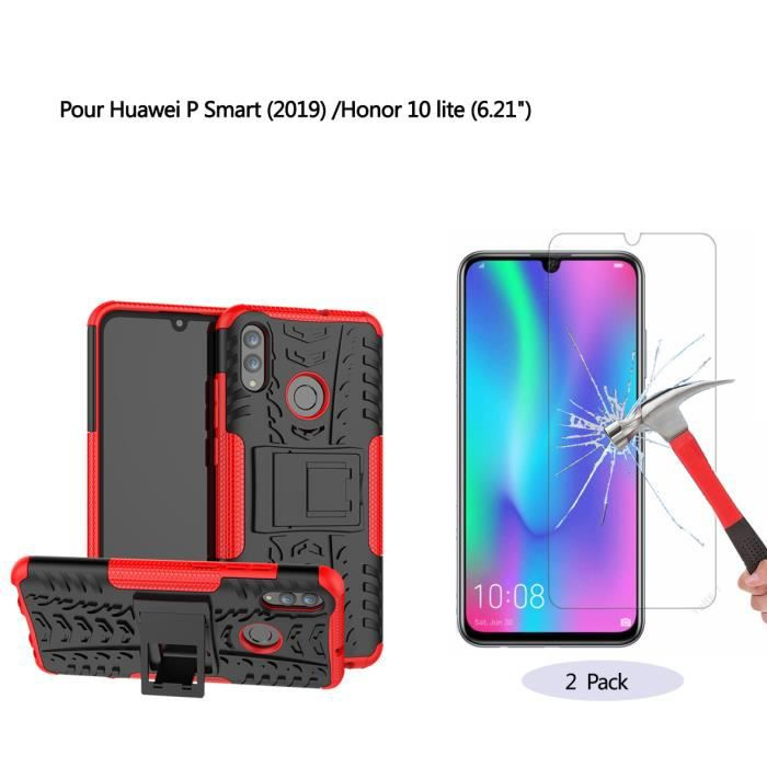 double coque silicone huawei p smart 2019