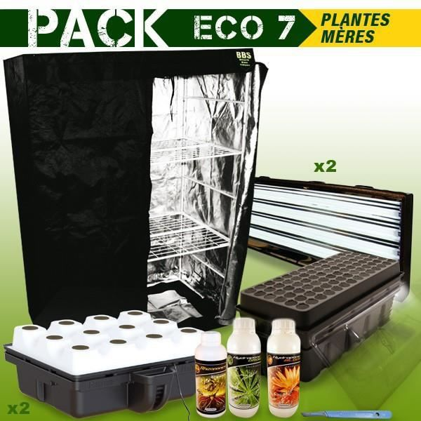 pack box plantes meres boutures eco 7 achat vente chambre de culture pack box plantes. Black Bedroom Furniture Sets. Home Design Ideas