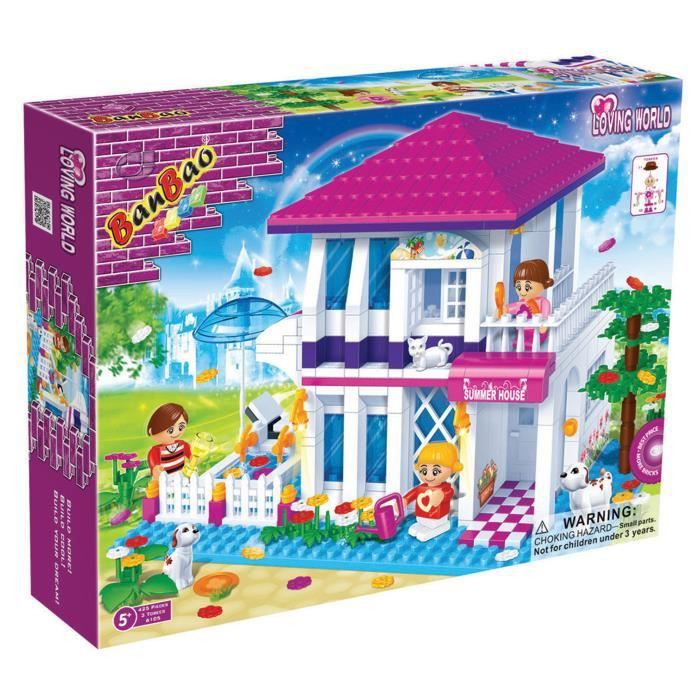 Banbao construction la maison 425 pieces achat - Jeu de construction de maison virtuel ...