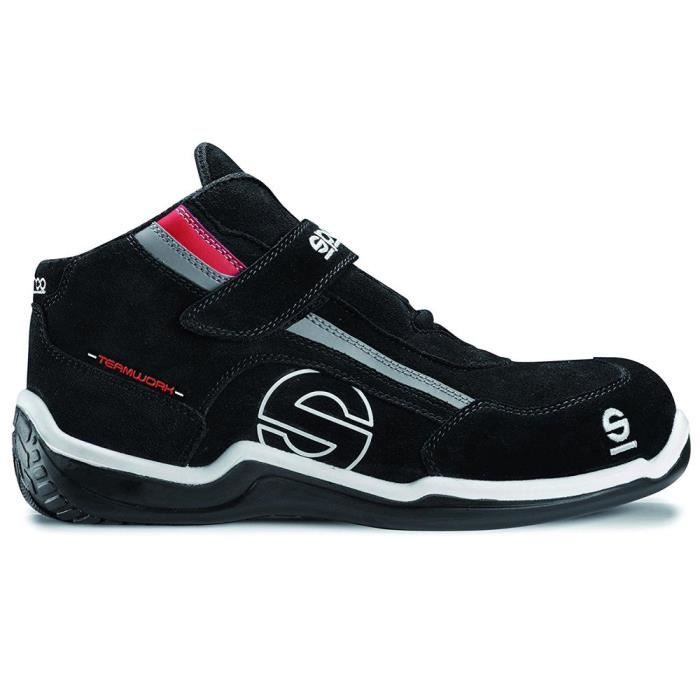 d164a7dadff8bc Chaussures de sécurité Sparco TeamWork S3 RACING HIGH NERO Nero ...
