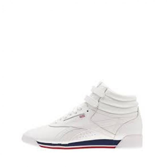 Baskets Reebok Freestyle HI Ref. CN2964 Blanc Achat