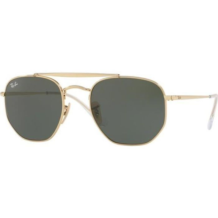 lunettes de soleil ray ban THE MARSHAL rb3648 001 t51 60a349c8accc