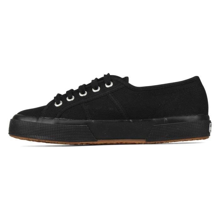 Superga 2750 COTU CLASSIC full black - Baskets basses Homme Pointure 44...sch16