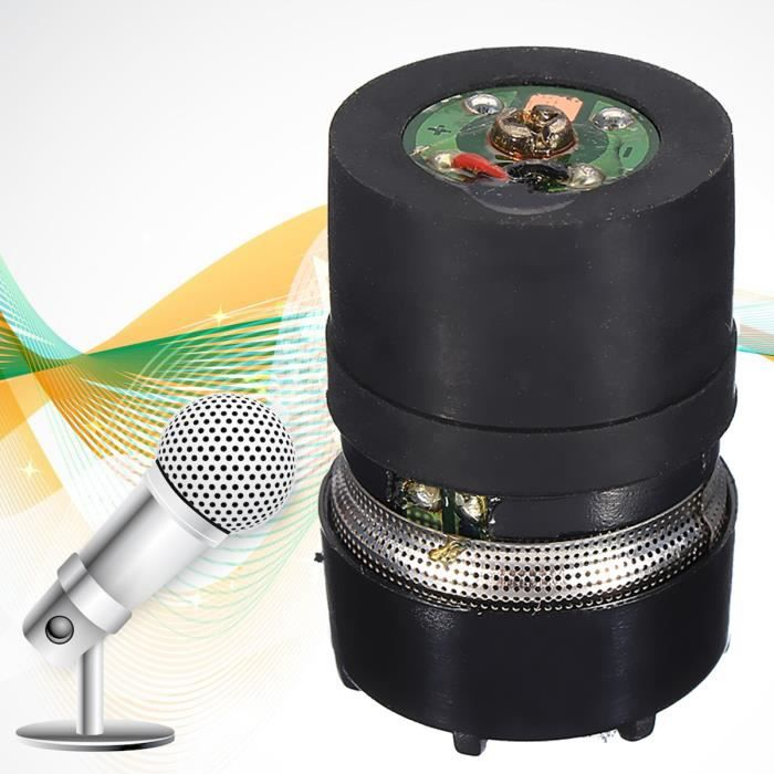 600 Ohm Microphone Cartouche Core Replacement Pour Shure Sm58 Microphone Avis Et Prix Pas Cher Cdiscount