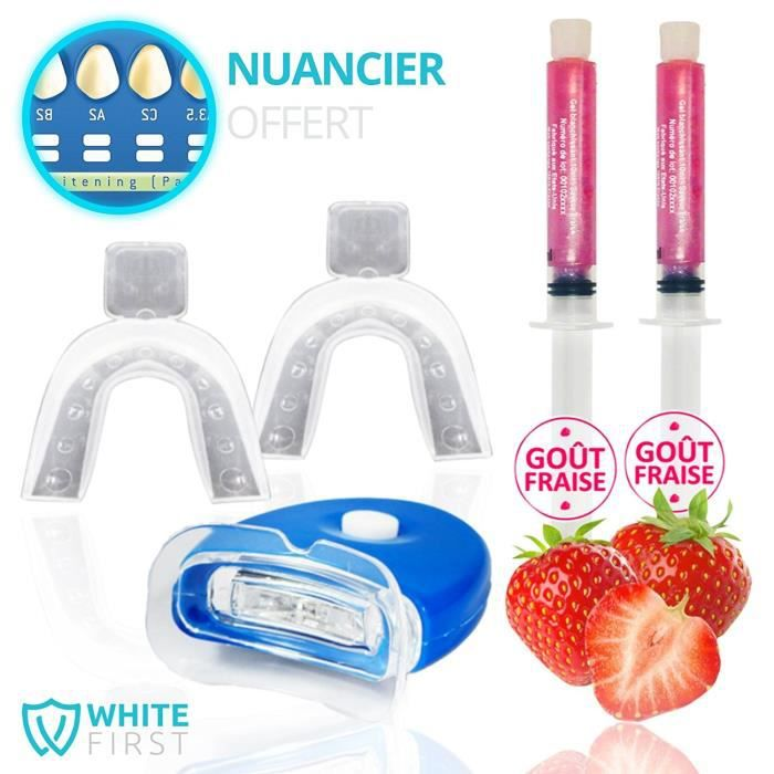SOIN BLANCHIMENT DENTS Kit blanchiment dentaire White First - Kit blanchi