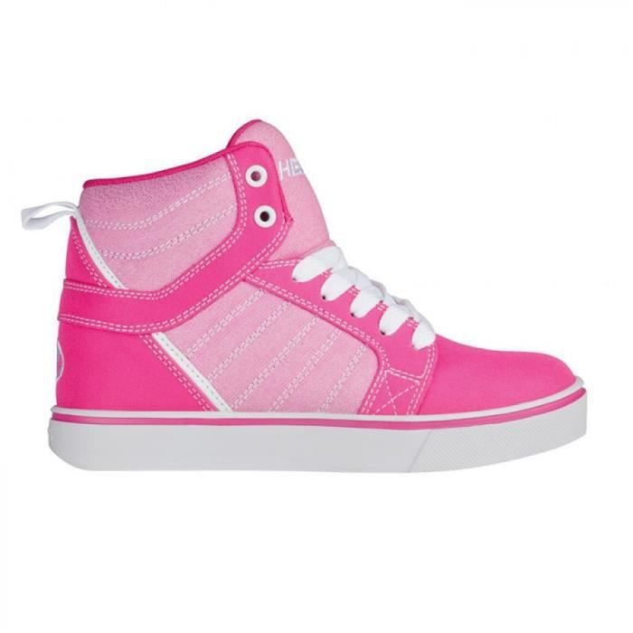 Heelys chaussure a roulette uptown 100226 hot pink white