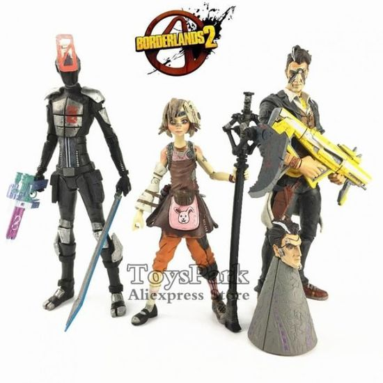 beau Jack action Figure by McFarlane Toys-NEUF!!! Borderlands