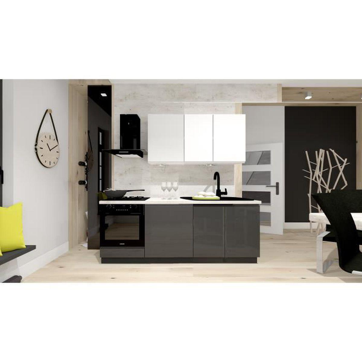 Difference Blanc Brillant Et Blanc Laqué meubles bas de cuisine laquer