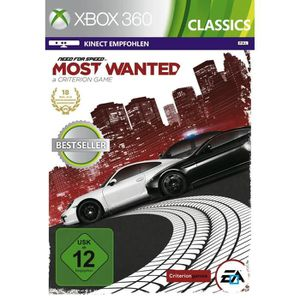 JEUX XBOX 360 Need For Speed Most Wanted Classics 2 Jeu XBOX 360