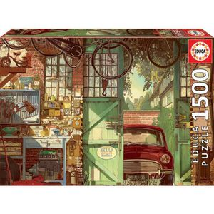 PUZZLE EDUCA  1500 old garage, arly j
