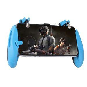 MANETTE JEUX VIDÉO Z8 contrôleur PUBG Mobile manette de jeu bleu