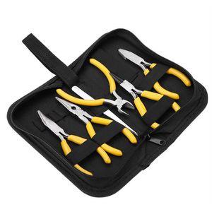 OUTILS BIJOUX 5pcs pince à bijoux, mini kit de fabrication de bi