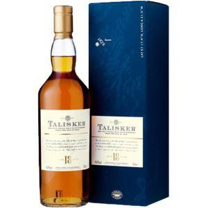WHISKY BOURBON SCOTCH Whisky 18 ans Talisker