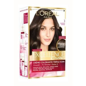 COLORATION L OREAL PARIS Excellence Coloration - N3 Chatain F