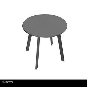 TABLE D'APPOINT TABLE BASSE APPOINT PORTABLE DÉMONTABLE METAL DESI