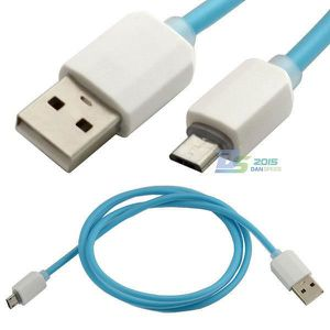 CÂBLE TV - VIDÉO - SON 1m Micro USB Charge Data Sync Jelly Effacer Cable