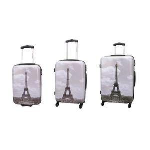 SET DE VALISES Lot de 3 valises bagage rigide - 4 Roues - Set 3 p