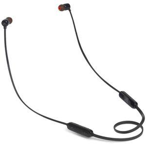 CASQUE - ÉCOUTEURS JBL T110BT - Ecouteurs intra Bluetooth - Noir