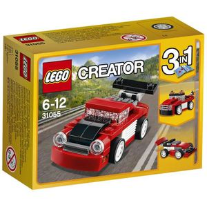 ASSEMBLAGE CONSTRUCTION LEGO® Creator 31055 Le Bolide rouge