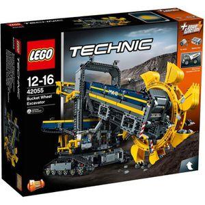 ASSEMBLAGE CONSTRUCTION LEGO® Technic 42055 La Pelleteuse à Godets