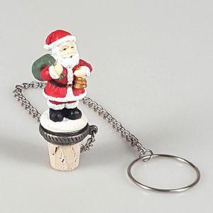 BOUCHON - DOSEUR  Bouchon de bouteille de vin Père Noel