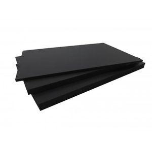CLÔTURE - GRILLAGE Panneau fibre composite plat et lisse (2 coloris)
