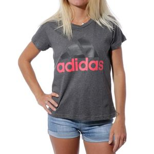 463365ce0e62 T-SHIRT Essential Light Slim Femme Tee Shirt Sport Gris Ad