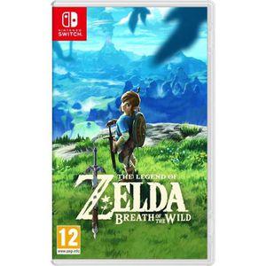 JEU NINTENDO SWITCH The Legend of Zelda - Breath of the Wild (Switch)