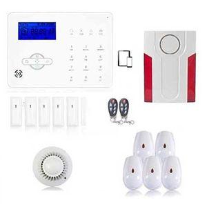 ALARME AUTONOME Alarme maison sans fil GSM et box ADSL, gestion à