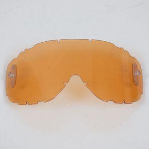 LUNETTES - MASQUE Visière écran simple orange masque casque Smith Pi