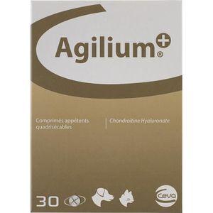 ALIMENT PELLICULÉ CEVA Comprimés appétents Agilium+ - Boite de 30 co