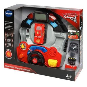 ORDINATEUR ENFANT CARS 3 - Stand Super Champion Éducatif
